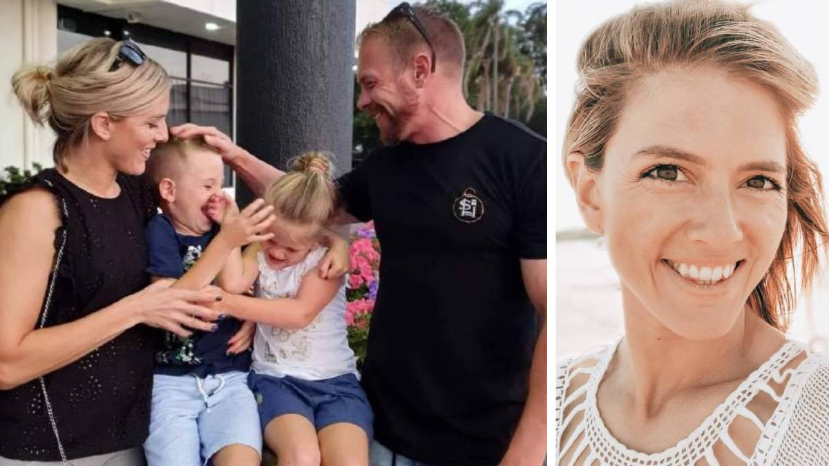 Lauren and Joshua Davidson and children Maddoc, 7 and Ava, 5, had their new life perfectly mapped out. Photos: Supplied.