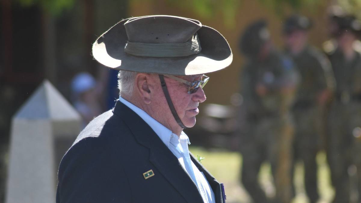 Is there someone you stand for every ANZAC Day? Photo: Mandurah Mail.