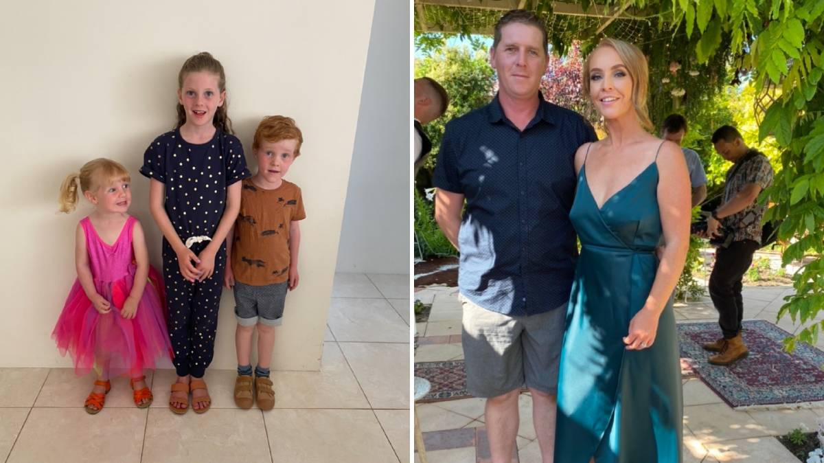 'Feeling of belonging': The Boggan family will take the final step in making Mandurah home when they become citizens on Australia Day. Photos: Supplied.