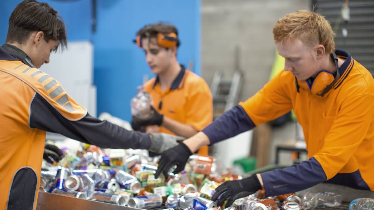 Containers for Change: WARRRL chief Tim Cusack says National Recycling Week is a time for all West Australians to consider how they can recycle more. Photo: File image.