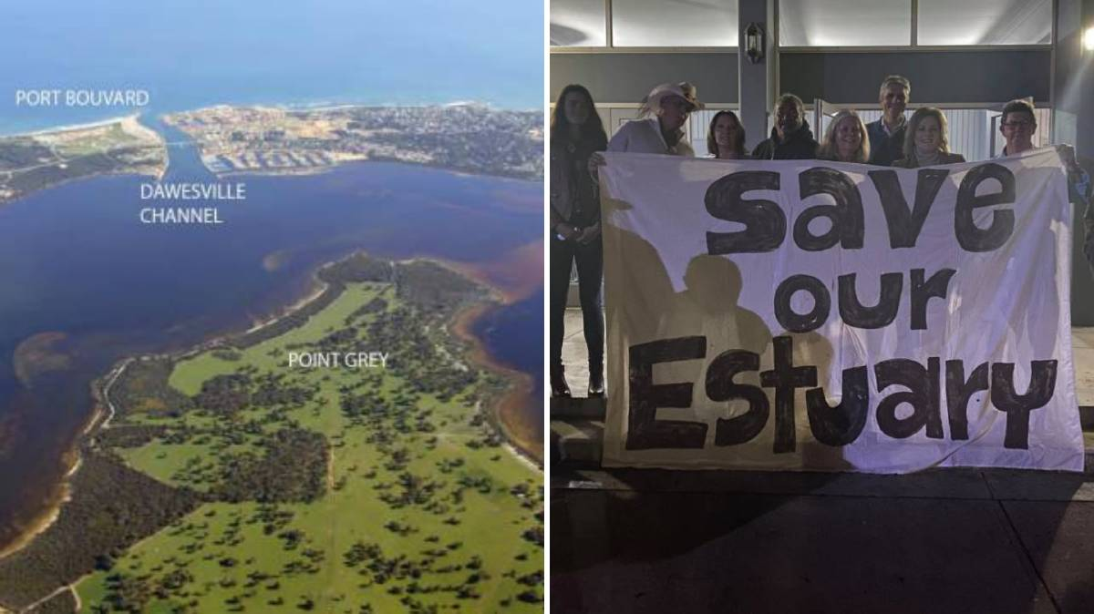 'Our estuary is at risk': Mandurah rally behind Shire of Murray to stop Point Grey Marina