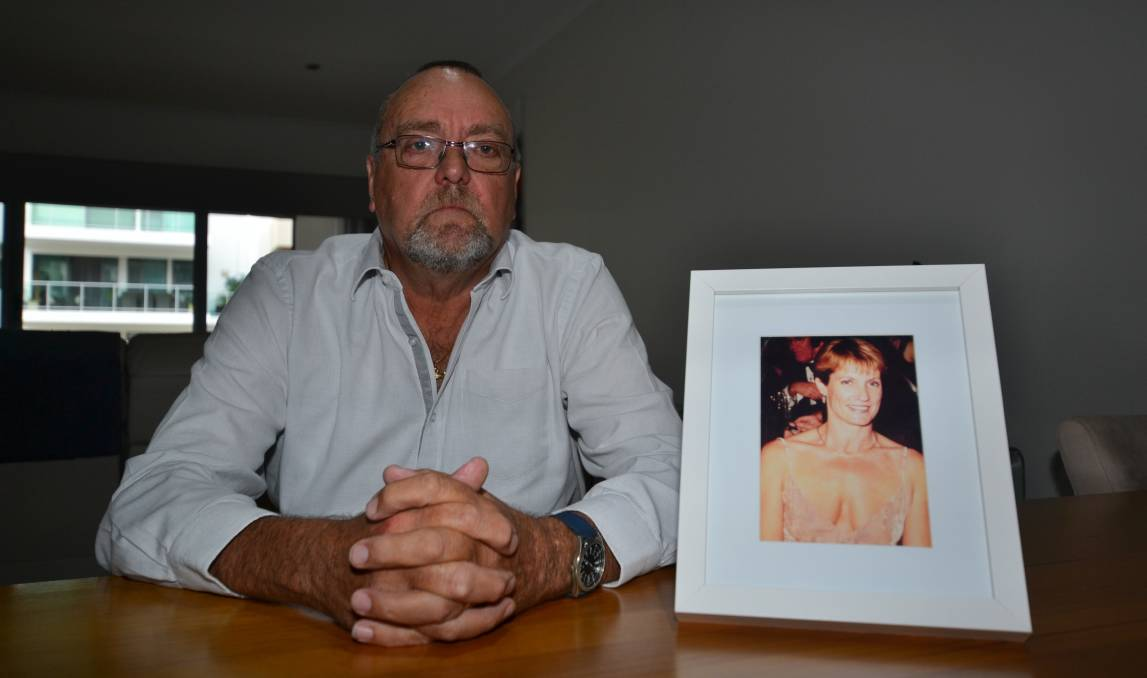 Heartbreak: Mandurah man Nigel Haines has called for assisted dying legislation after watching his wife Suzie suffer in the final years of her life. Photo: Gareth McKnight