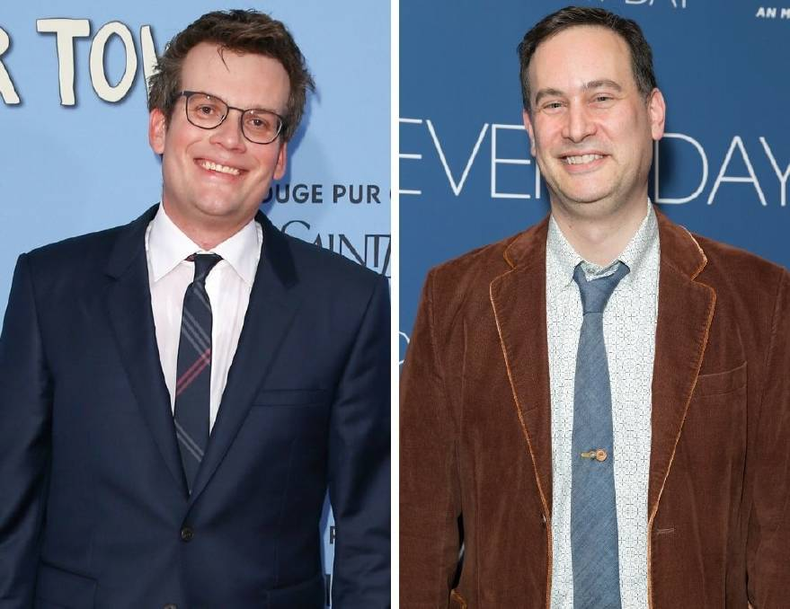 John Green, left, and David Levithan teamed up for the book Will Grayson, Will Grayson. Pictures: Shutterstock