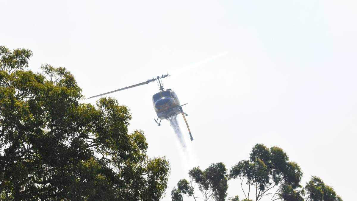 Aerial crews have been called in to battle a blaze in Baldivis. Photo: File image.