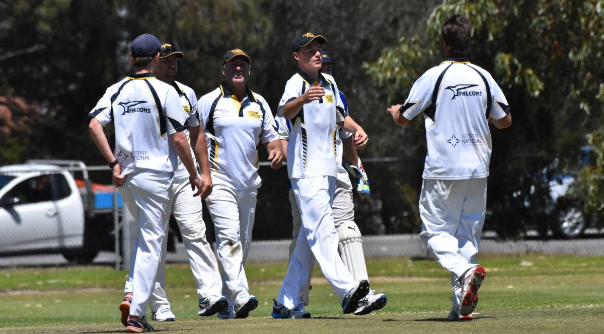 South Mandurah stormed into the Peel Cricket Association top four with a victory over the Singleton Irwinians on Saturday afternoon. Photo: Justin Rake/File image.