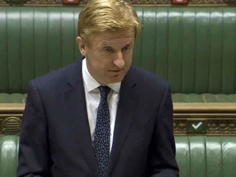 UK Culture Secretary Oliver Dowden has announced a Stg300m aid package for COVID-hit UK sports.